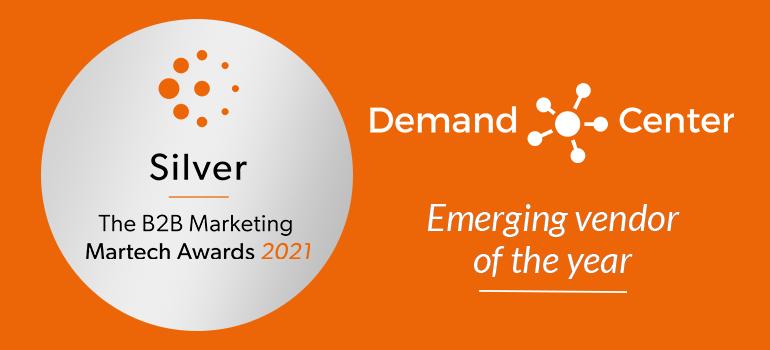 B2B MarketingMarTech Awards: We've Won a Silver Award!