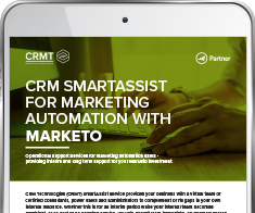 Data Sheet: CRMT Digital SmartAssist for Marketing Automation with Marketo