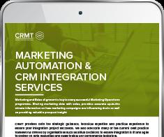 CRMT Integration Services Guide: Marketing Automation & CRM