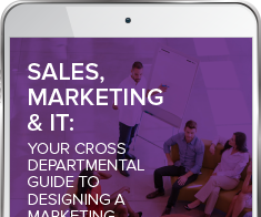 Sales, Marketing and IT: Your Cross Departmental Guide to Designing a Marketing Operations Strategy