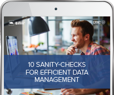 10 sanity-checks for efficient Data Management