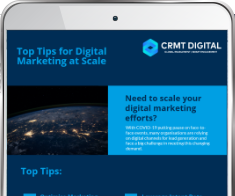 Top Tips for Digital Marketing at Scale